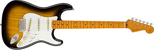 Fender Classic Series '50s Stratocaster Lacquer, Maple Fingerboard, 2-Color (Sunburst Maple Fingerboard)