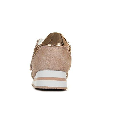 Versace Jeans Linea Fondo Stella Dis4 Suede Glitter E0VRBSA270026925, Basket - 36 EU