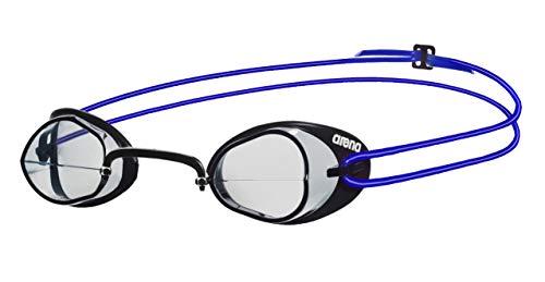 Arena Swedix Gafas de Natación, Unisex Adulto, Transparente/Azul, Universal