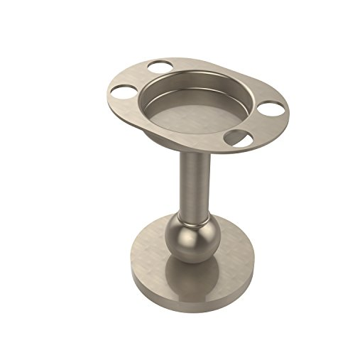 Allied Brass GL-55-PEW Tumbler/Toothbrush Holder, Antique Pewter Antique Pewter Accessories