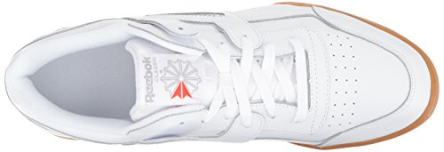 Reebok Mænds Træning Plus Cross Trainer Hvid / Carbon / Klassiske Røde fH6bl