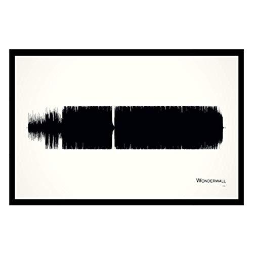 Wonderwall - 11x17 Framed Soundwave ()