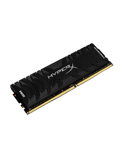 Kingston Technology HyperX Predator Black 8GB Kit 3000MHz DDR4 CL15 DIMM XMP Desktop Memory HX430C15PB3K2/8 (Kingston Ram Predator)
