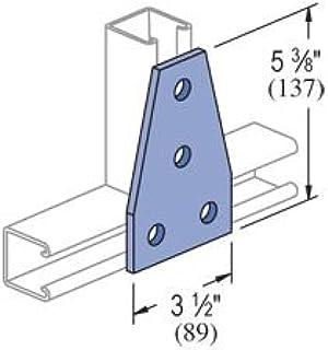 Unistrut P1010EG Electrogalvanized Steel Channel Nut With Spring 1//2 Inch