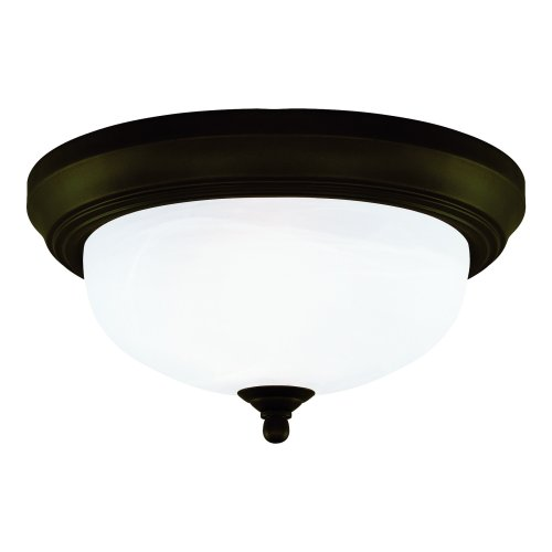 westinghouse-64291-13-inch-two-light-flush-mount-fixture-oil-rubbed-bronze-with-frosted-white-alabas