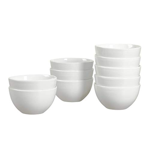 (Gallery 10 Pack Dish Set of Plates, Bowls, or Mugs For Catering, Events, Parties, or Household Dining (5.5