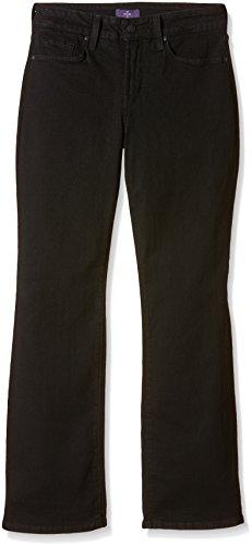 Cut Femme Boot Jeans Billie Noir NYDJ Mini Black qwZtSa6p