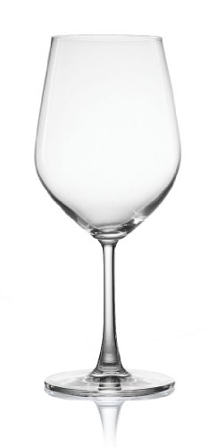 Pure and Simple Sip Bordeaux Wine Glass, 20-Ounce, Set of 4 (Bordeaux Glasses Large Wine)
