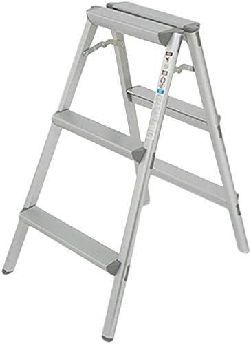 HOMRanger Taburete, Escalera de Aluminio, Escalera Plegable para el hogar, Engrosamiento, Antideslizante, Taburete retráctil, Taburete: Amazon.es: Hogar