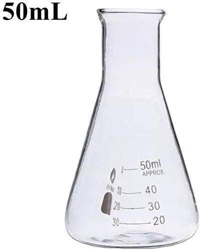 GJNVBDZSF 29//40 geschliffene Gelenke Erlenmeyer-Erlenmeyerkolben 50 ml Erlenmeyerkolben
