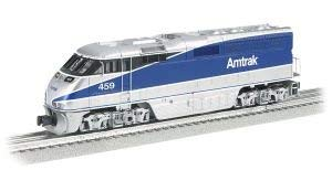 Williams by Bachmann Emd F59PHI Locomotive with True Blast Plus Sound-Amtrak Pacific Surfliner #459 O Scale Prototypical Silver and Blue [並行輸入品] B07HLS68RN