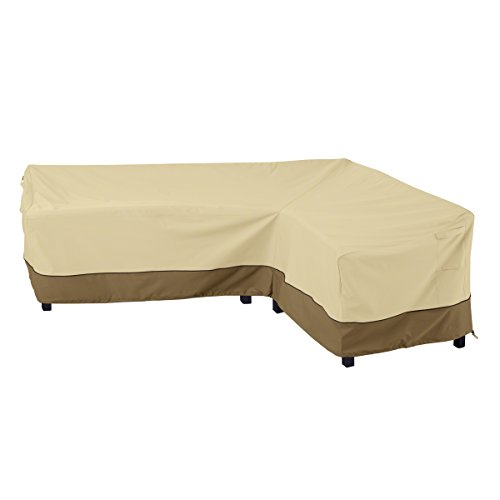 Classic Accessories Veranda Patio L-Shaped Sectional Sofa Cover, Right Facing