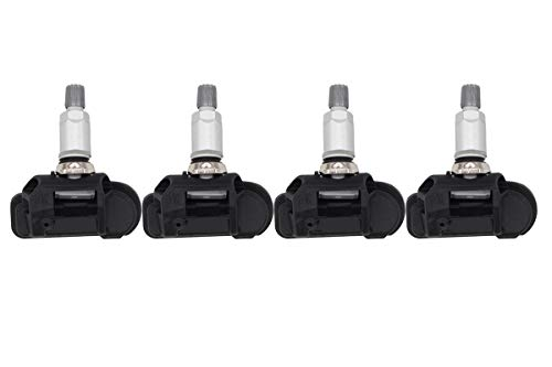 NewYall Pack of 4 Black TPMS Tire Pressure Monitoring, used for sale  Delivered anywhere in Canada