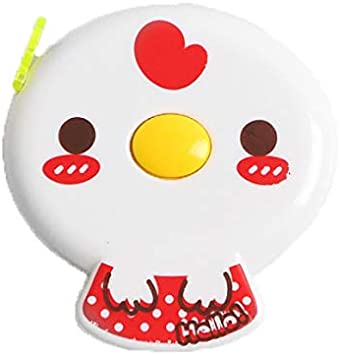 60 inches Tape Measure for Body Measurements Cute Red Chick Shape Retractable Dual Sided Inch and Centimeter for Sewing Tailor 150cm TPPR52506