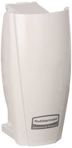 Care Controlling (Rubbermaid Commercial Products 1793547 TCell Automated Odor-Controlling Aerosol Air Care System, Fanless, White)