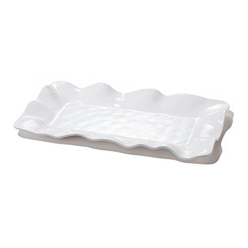 Beatriz Ball Havana White Rectangular Long Platter,
