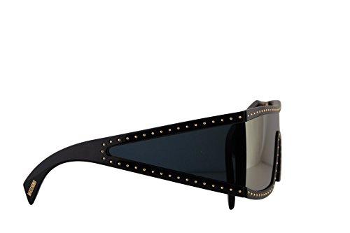 Moschino oro dorado lente 2M2SQMOS MOS espejo S S 004 004S de Gafas MOS004S con sol negro 99 MOS004 mm de CxCwrBq