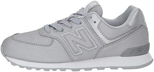 – Argento Sneaker silver New Ks Bambini Unisex silver 574v2 Balance w4U1nqRxO7