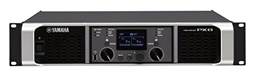 Yamaha PX8 Dual Channel 2x1050W Lightweight Power Amplifier w/ (Pro Lightweight Amplifier)