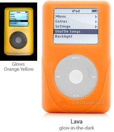 iSkin eVo2 for Click Wheel iPod lava for 40GB and iPod Photo 40/60