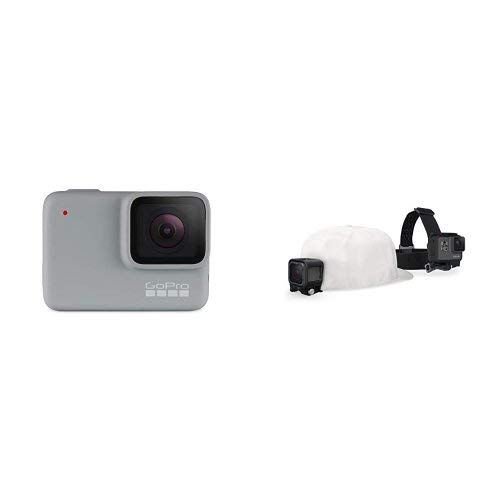 GoPro White Waterproof Digital Action Camera with Touch Scre