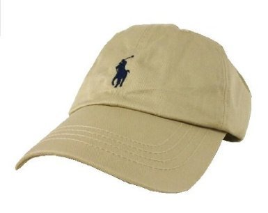Amazon.com  Polo Ralph Lauren Baseball Cap Khaki Toddler (9-24 ... 1cc47e44da4