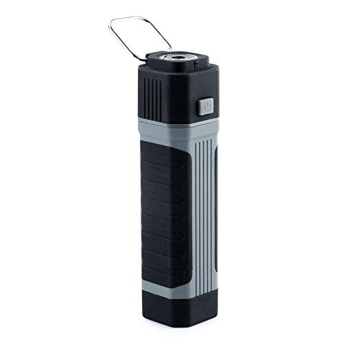 TOOGOO Lampes de poche 2 en 1 LED COB 3W Lampe-torche extensible Lampe de travail avec un fort aimant