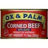 Ox Palm Corned Beef 15oz