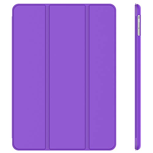 JETech Case for Apple iPad Air 1st Edition (NOT for iPad Air 2), Smart Cover with Auto Wake/Sleep, Purple