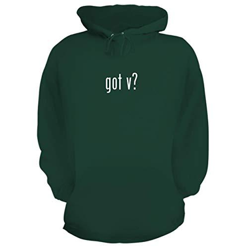 BH Cool Designs got v? - Graphic Hoodie Sweatshirt, Forest, Medium