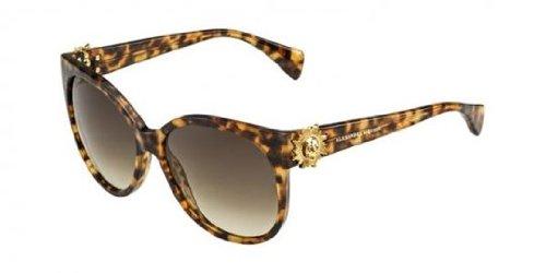 Alexander McQueen Women's AMQ 4245/S Havana/Brown Gradient - Alexander Mcqueen Sunglasses Women