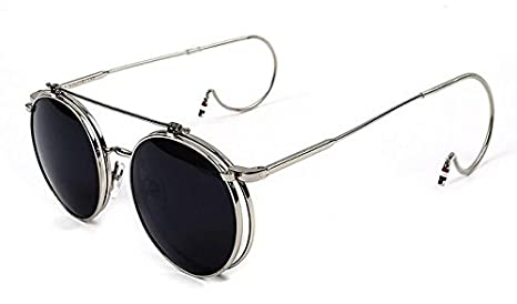 Amazon.com: 365Cor(TM) New Fashion Unisex Vintage Round Flip ...