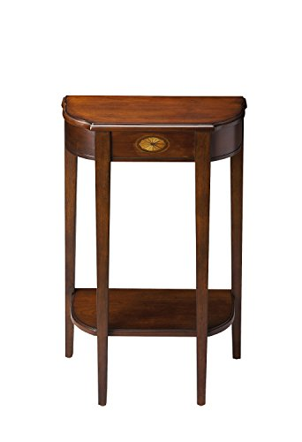(Butler Specialty Demilune Console Table in Plantation)