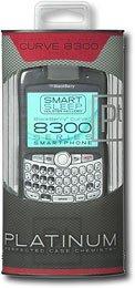 Platinum Series Case for BlackBerry 8330 Mobile Phones - Black