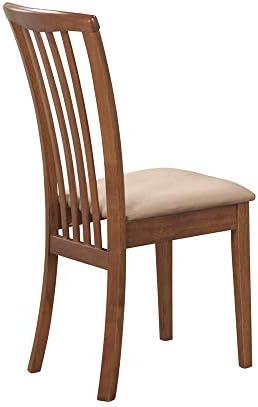 Coaster Brannan Slat Back Side Chair