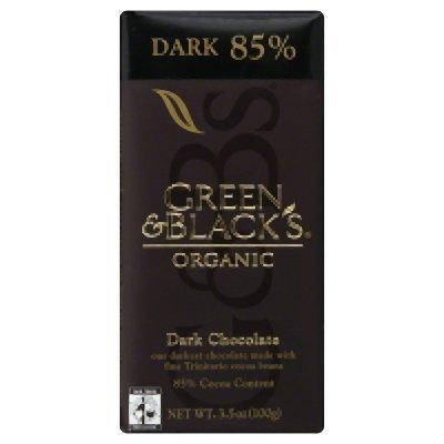 Aria Chocolate (Green Black Dark Chocolate 85% 3.5 Oz (Pack of 10) - Pack Of)
