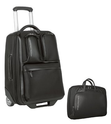 c5b3dbb5992a77 Piquadro Cabin size trolley with folder Globe BV1578GL/N: Amazon.ca:  Luggage & Bags