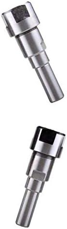 joyMerit プロフェッショナル8mm(5/16)/ 12mm(1/2)シャンクビットルーターコレット延長彫刻機延長ロッド-全長:80mm