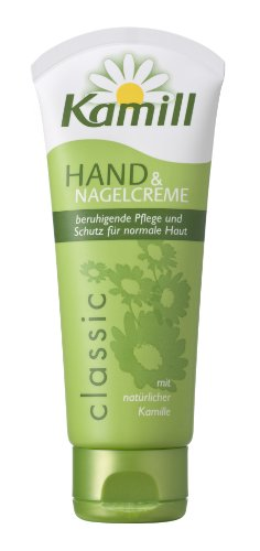 Kamill Hand and Nail Cream with Natural Chamomile 3.3 Oz 100 (100ml Hand Cream)