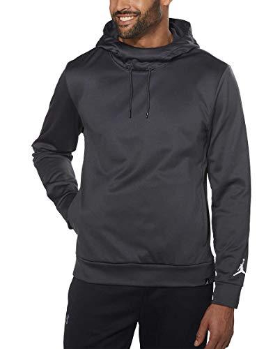 (Nike Men's Jordan Jumpman 60 Team Pullover Fleece Hoodie (Anthracite, S))