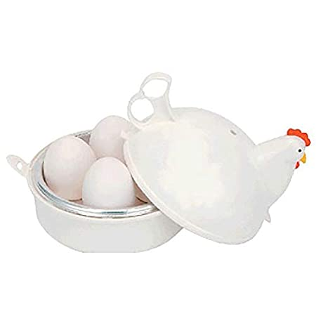 PQZATX Huevos de Microondas con Forma de Pollo Cocina con Caldera ...