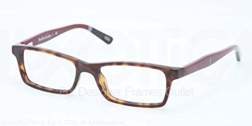 Eyeglasses Polo Prep PP 8523 1309 DK TORTOISE/BURGUNDY - Polo Sport Glasses