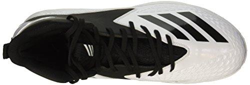 Scarpa Da Calcio Adidas Original Mens Freak Mid Md Wide Ftwr White, Core Black, Core Black