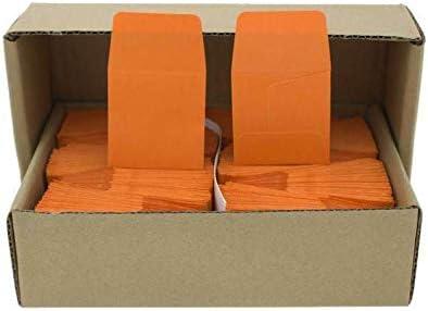 500 pk Archival Paper Coin Envelopes Guardhouse 2x2 Orang1e