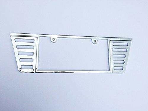 C7 Stingray Corvette Chrome Rear License Frame - Custom CNC Machined Billet Premium in USA! ()