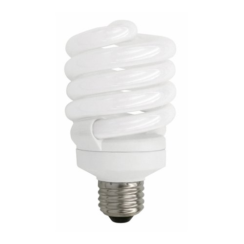 TCP 4892341K 23W 120V 4100K 1650 Lumens Non-Dimmable Indoor/Outdoor CFL Spiral (Pack of 12)