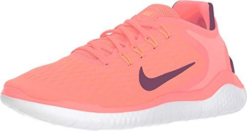 Nike Women's Free RN 2018 Running Shoe (7 M US, Flash Crimson/Black Orange Peel - White Orange Peel