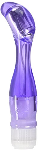 Doc Johnson Lucid Dream 14 - Waterproof G-Spot Vibrator - Multi-Speed Vibrations - Made of Flexible, Odorless, and Body-Safe TPR Material - Women's Health Award Winner - Purple