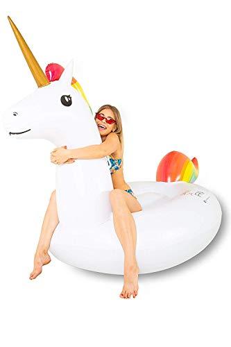 SummerFan Flatador Unicornio - Flotadores Gigantes, Hinchables ...