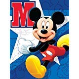 Disney Silk Touch Sherpa Twin Blanket and Marvel Designs 60''x80'' (Mickey Run) by Disney